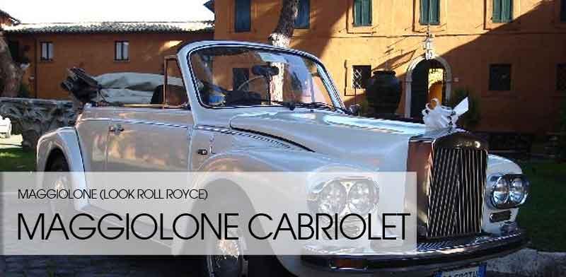 maggiolone cabriolet rolls royce