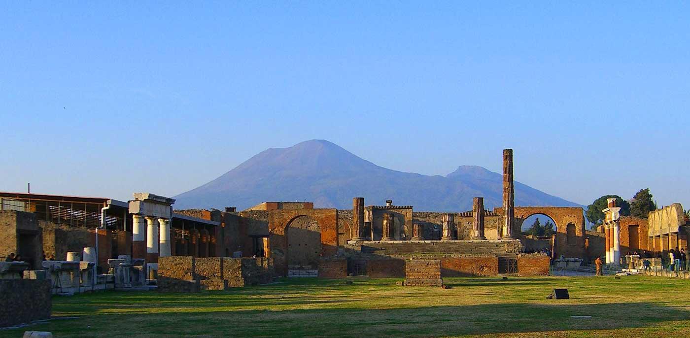 Rome To Pompeii By Rental Car