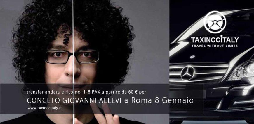 Concerto Giovanni Allevi 8 Gennaio 2017 Roma