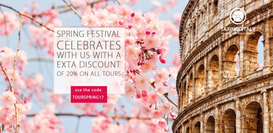 Spring 2017 -20% Extra Discount on all tours