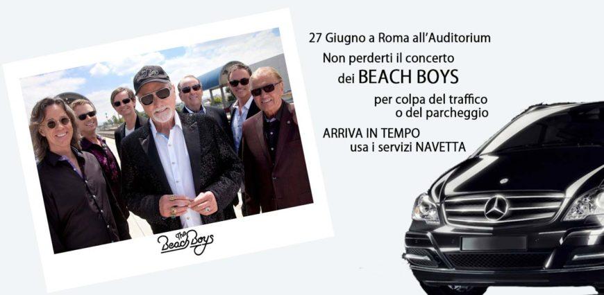 Beach Boys (the) in concerto a Roma  2017 Auditorium Parco della Musica