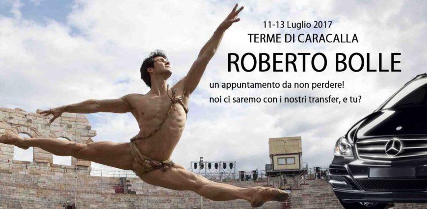 Roberto Bolle and Friends a Caracalla 11-13 Luglio 2017