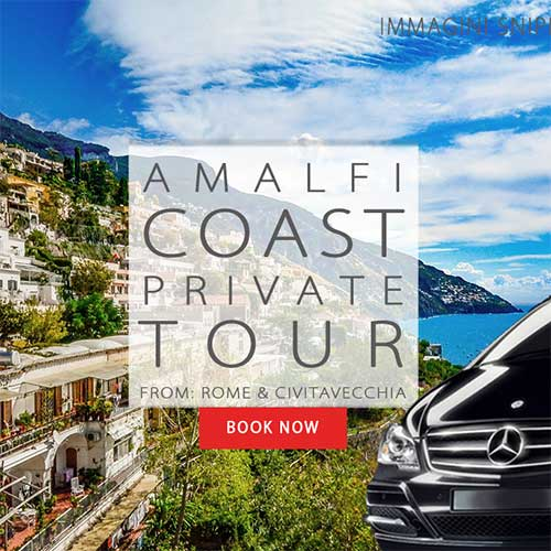 Amalfi Coast Tour from Rome or Civitavecchia