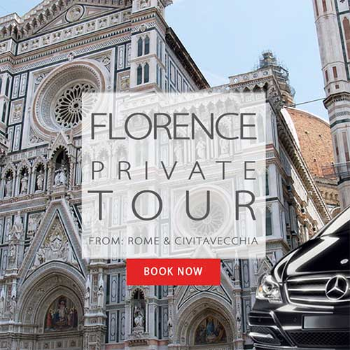Florence Tour from Rome or Civitavecchia