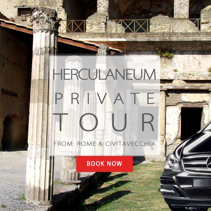 Herculaneum tour from Rome or Civitavecchia